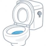 尼崎市富松町 トイレ水漏れ修理 ロータンク内ボールタップとフロートバルブ交換修理