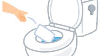 トイレの掃除シートが原因でつまった?トーラー通管作業|西宮市鷲林寺