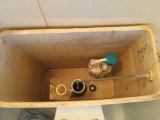 トイレタンク内部部品交換後