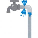 西宮市山口町 屋外給水管水漏れ修理 コン柱水漏れ修理 給水管やり替え工事