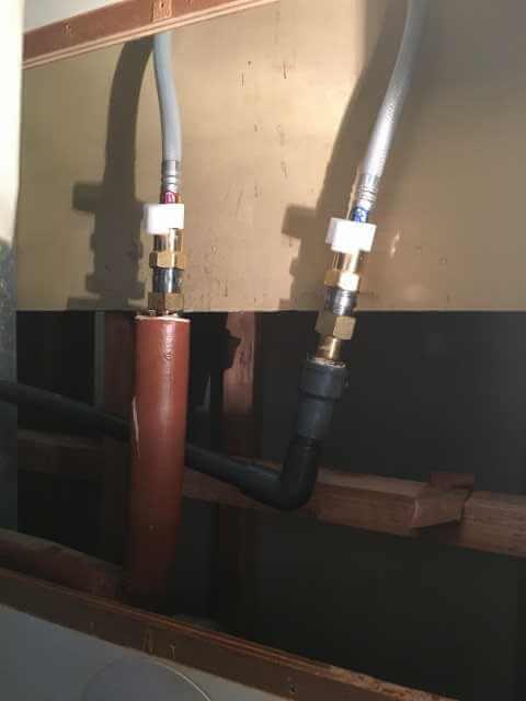 給湯管・給湯管に接続