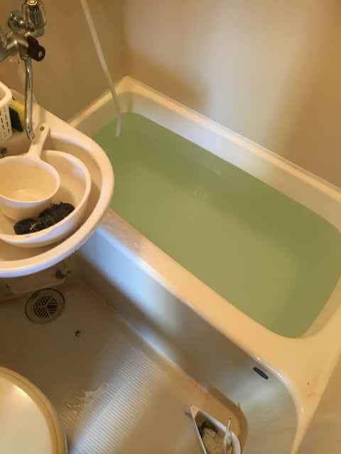 現場のお風呂