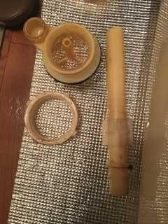 取り出したサイフォン管