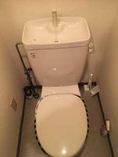トイレ水漏れが直ったトイレ