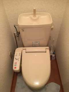 水漏れが直ったトイレ