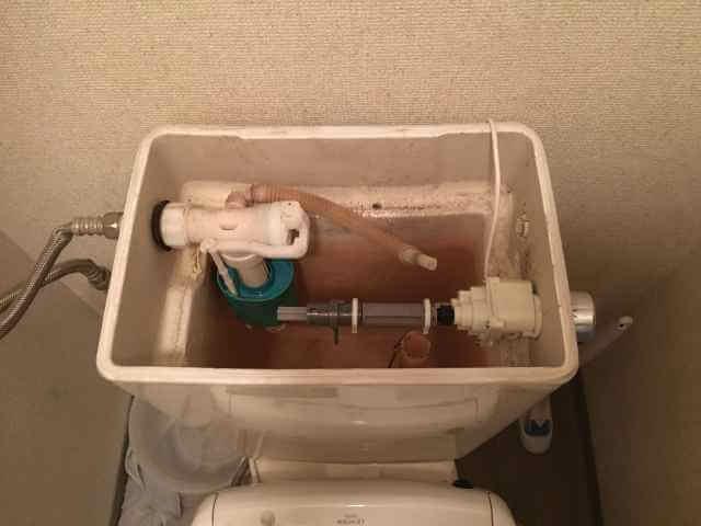便器洗浄ユニット取り付け完了