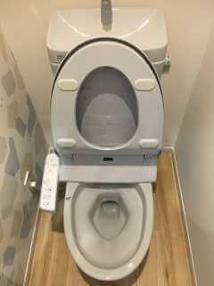 つまったトイレ