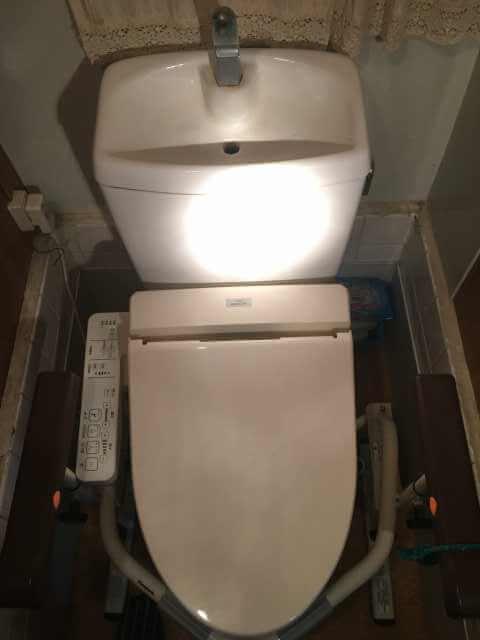 タンクに水が溜まらないトイレ