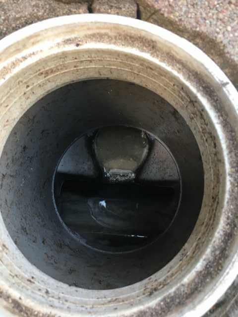 合流の小口径桝