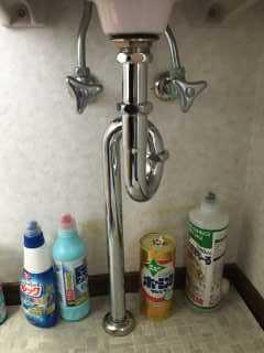 新しい排水管