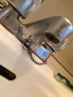 蛇口の先から水漏れ