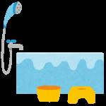 ユニットバスと一体型の蛇口から水漏れ サーモスタット混合水栓交換|尼崎市長洲東通