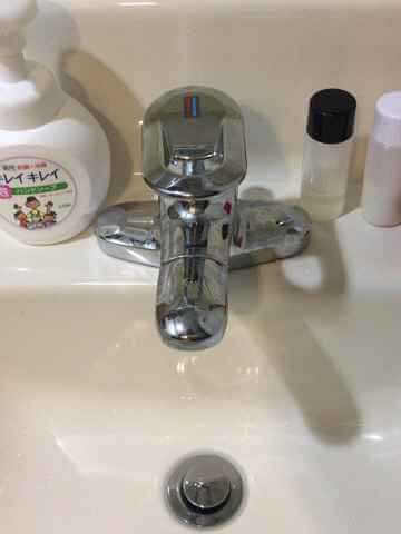 洗面の蛇口TLF30UDX