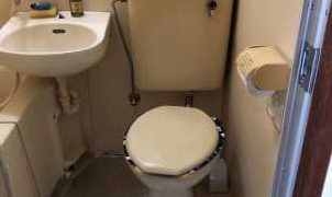 今朝急にトイレがつまった・水を流しても流れない・溢れてくるを修理