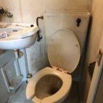 大阪市港区八幡屋 トイレ水漏れ修理 ロータンク内水漏れ修理 ユニットバス