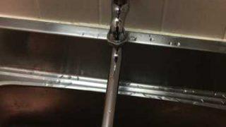 神戸市中央区旭通 蛇口取替作業 自在水栓取付