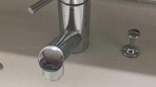 尼崎市南武庫之荘 洗面蛇口水漏れ修理 蛇腹ホース交換修理