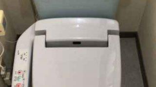 INAX製シャワートイレCW-K45AQAの取り付け作業
