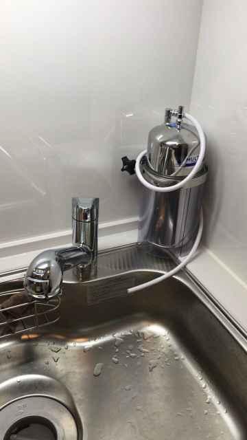 取り付ける浄水器