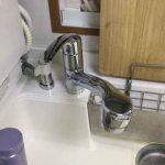 分岐水栓を取り付ける蛇口
