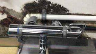 蛇口のレバーと本体の間からの水漏れを修理