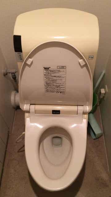 トイレのチェーンが切れたTOTO製便器