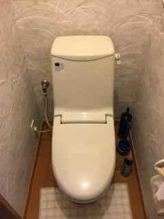 DT-4872のウォシュレット一体型トイレの水漏れ修理