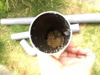 排水管につまった油汚れ