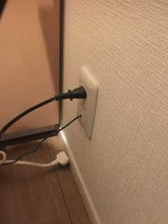 電源を抜く