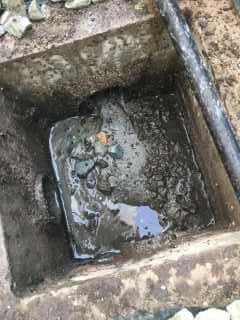 排水管に泥がつまっている?を修理【屋外排水管洗管作業】