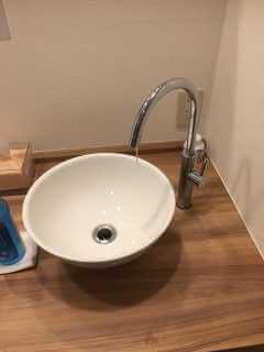SANEI立水栓Y5475H-13の水漏れ修理【トイレの手洗い蛇口から水漏れ】