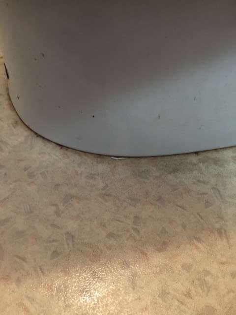 便器と床の間
