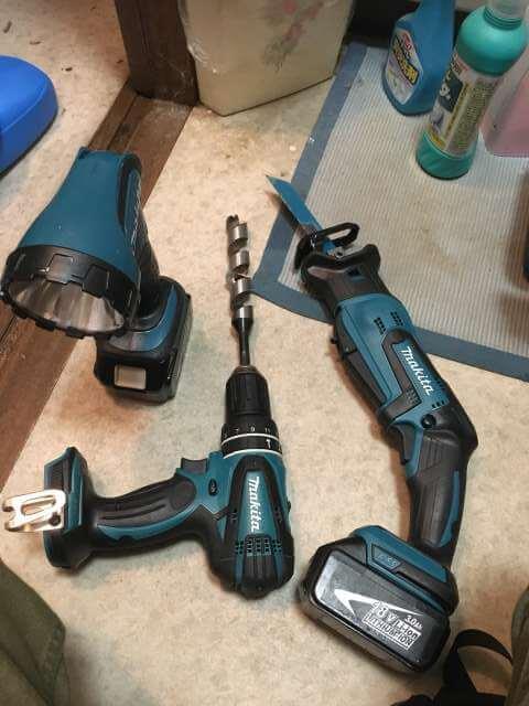 使用する電動工具