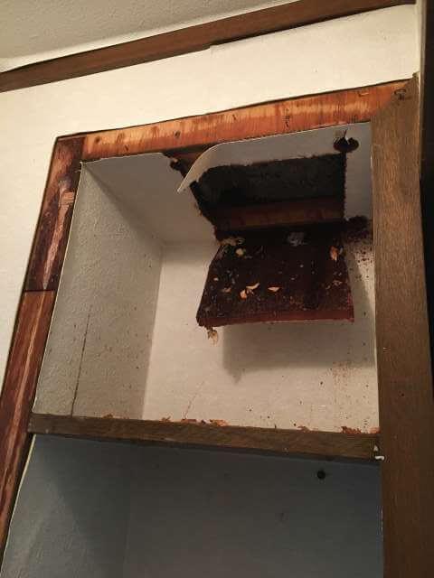 天井を破った