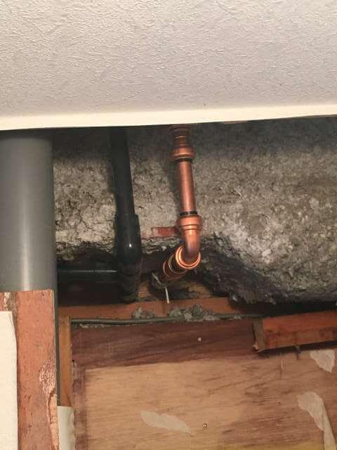 銅管修理完了