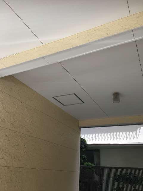 ガレージの天井