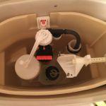 芦屋市西蔵町でのトイレ水漏れ修理事例