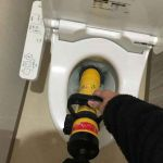 伊丹市鋳物師でのトイレつまり修理事例